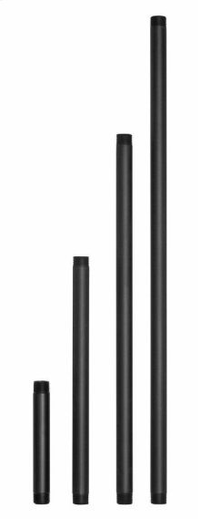 Black Path Light Stems Lamps and Accessory