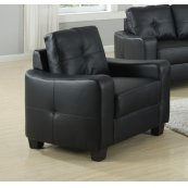 Jasmine Casual Black Chair