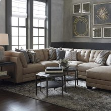 Chaise on Left/Affinity Sand Affinity U-Shaped Sectional