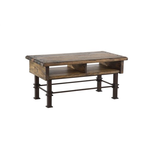 Coffee Table, Available in Rustic Finish Only.