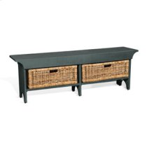 """55""""W Short Bench Product Image"""