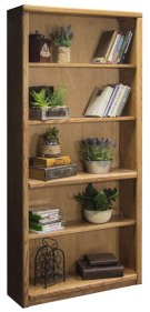 """Contemporary 72"""" Bookcase Product Image"""
