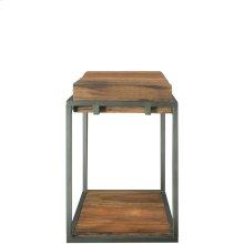 Maverick - Chairside Table - Rustic Saal Finish