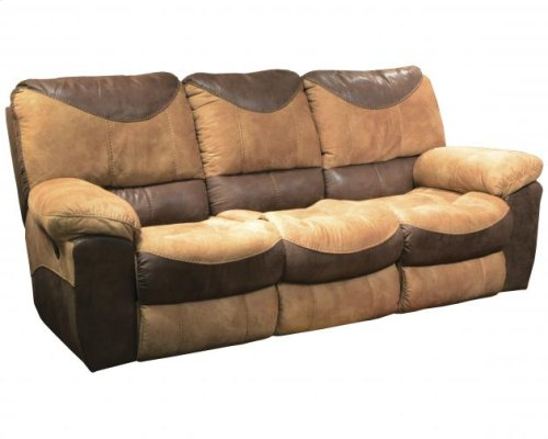 CATNAPPER 61961 Portman Saddle Chocolate Power Reclining Sofa