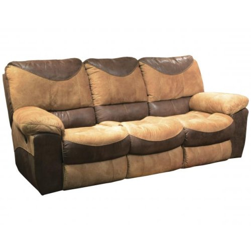 Reclining Sofa - Chocolate