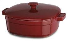 Streamline Cast Iron 6-Quart Casserole - Empire Red