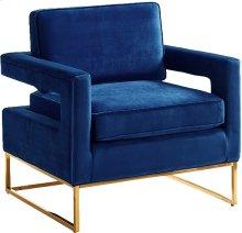 """Noah Velvet Accent Chair - 33.5""""L x 29.5""""D x 35.5""""H"""