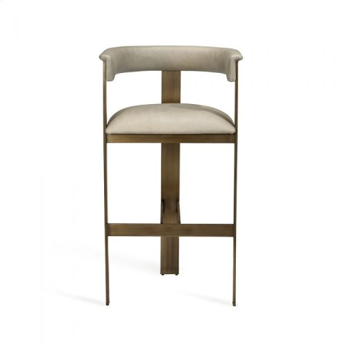 Darcy Bar Stool - Taupe