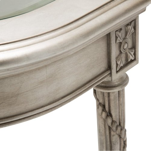 Giselle Console Table Platinum