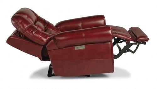 Maverick Fabric Power Recliner with Power Headrest