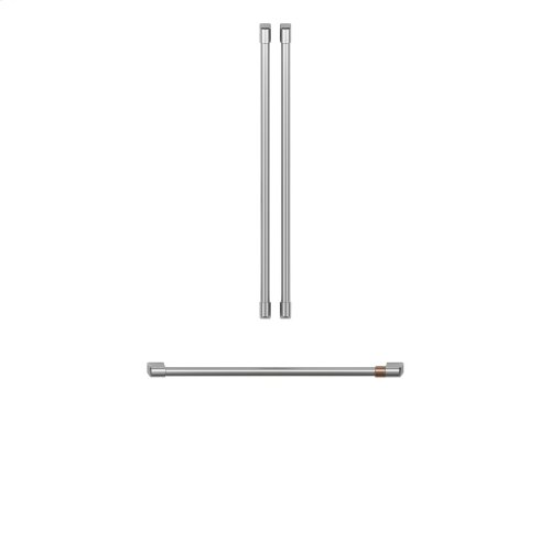Café Refrigeration Handle Kit - Brushed Stainless