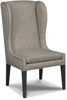 Corsica Zuma Linen Arm Dining Chair