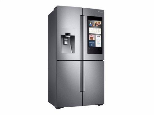 22 cu. ft. Capacity Counter Depth 4-Door Flex Refrigerator with Family Hub