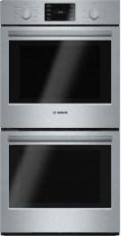 "500 Series, 27"", Double Wall Oven, SS, EU conv./Thermal, Knob Control Product Image"