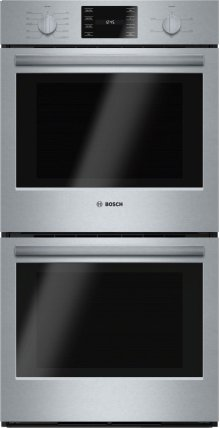 "500 Series, 27"", Double Wall Oven, SS, EU conv./Thermal, Knob Control"
