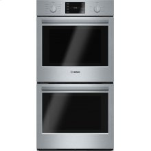 """500 Series, 27"""", Double Wall Oven, SS, EU conv./Thermal, Knob Control"""
