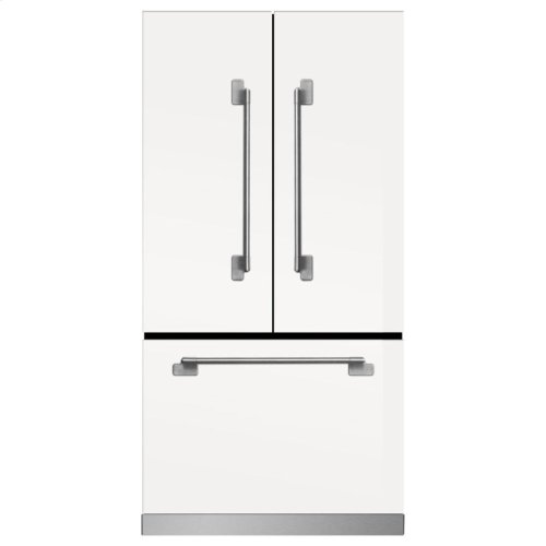 Marvel Elise Counter Depth French Door Refrigerator - Marvel Elise French Door Counter-Depth Refrigerator - Ivory