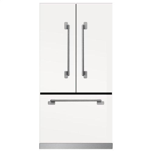 Marvel Elise Counter Depth French Door Refrigerator - Marvel Elise French Door Counter-Depth Refrigerator - White