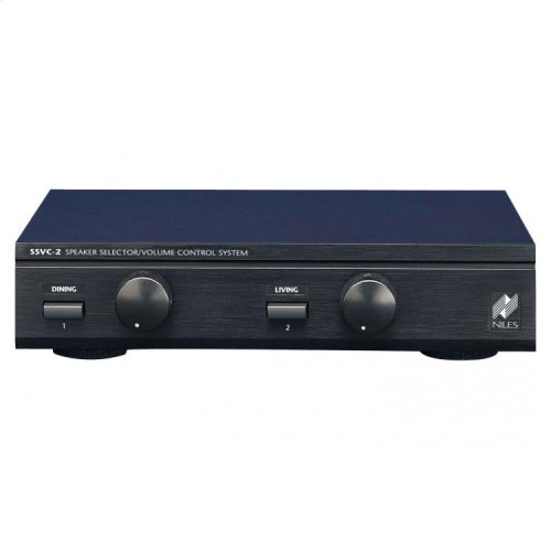 Speaker Selector with Volume Controls for Two Pairs of Speakers SSVC-2