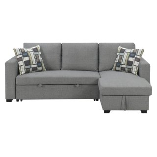 Langley Convertible Sectional w/ Storage