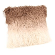 Lamb Fur Pillow Tan Spectrum