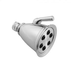 Satin Brass - RETRO #2 Showerhead- 1.5 GPM