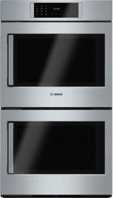 "Benchmark® 30"" Double Wall Oven, Right SideOpening Door, HBLP651RUC, Stainless Steel"