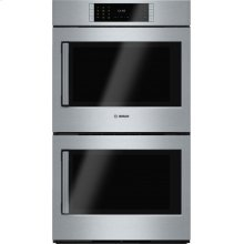 Benchmark® built-in double oven 30'' Stainless steel, Door hinge: Right HBLP651RUC