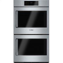 Benchmark® built-in double oven 30'' Stainless steel, Door hinge: Right HBLP651RUC