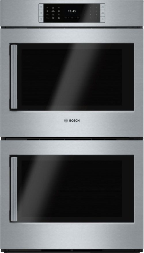 """30"""" Double Wall Oven, Right SideOpening Door, HBLP651RUC, Stainless Steel"""
