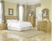 HB28 Sleigh Storage Bed - 2 Drawer - King