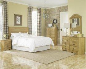 HB28 Sleigh Storage Bed - 4 Drawer - Queen