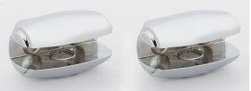 Royale Shelf Brackets A6650 - Polished Chrome