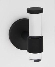 Acrylic Contemporary Robe Hook A7281 - Matte Black