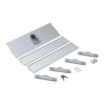 """20"""" W X 4"""" D Compartment Keyed Safety Lock Box In Aluminum Finish"""