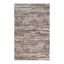 Darja Distressed Rustic Modern 5x8 Area Rug in Light and Dark Tan