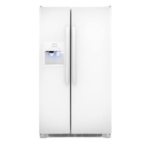 25.5 Cu. Ft. Side-by-Side Refrigerator - PEARL WHITE