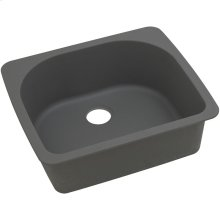 "Elkay Quartz Classic 25"" x 22"" x 8-1/2"", Single Bowl Drop-in Sink, Dusk Gray"