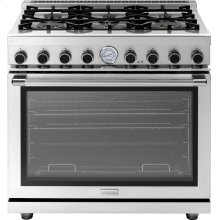 """Range NEXT 36"""" Panorama Stainless steel 6 gas, gas oven"""