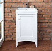 "Shaker Americana 21x18"" Vanity - Polar White Product Image"