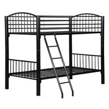 Twin Black Econo Bunk Bed