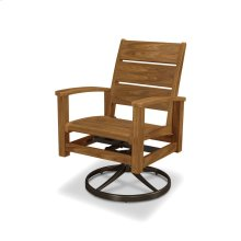 Rosewood Select Signature Swivel Rocking Chair Dining Chair