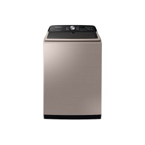 Samsung5.0 cu. ft. Top Load Washer with Active WaterJet in Champagne