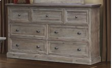 CF-3000 Bedroom - 7 Drawer Dresser - Sunset Trading