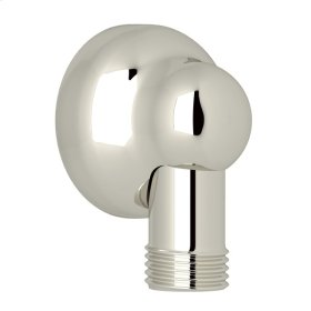 Polished Nickel Handshower Wall Outlet