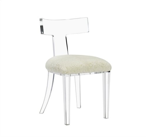 Tristan Klismos Chair - Shearling
