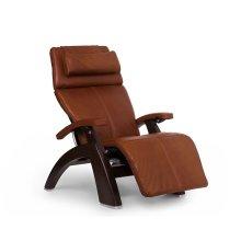 "Perfect Chair PC-LiVE "" - Cognac Premium Leather - Dark Walnut"