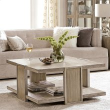 Sophie - Square Coffee Table - Natural Finish