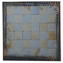 "14"" Square Fused Glass Chess Board"