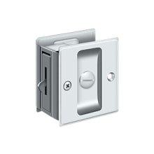"Pocket Lock, 2 1/2""x 2 3/4"" Privacy - Paint Black"